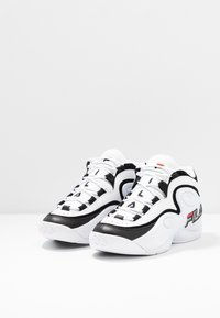 Fila - GRANT HILL 3 - Sneakersy wysokie - white/black - 2