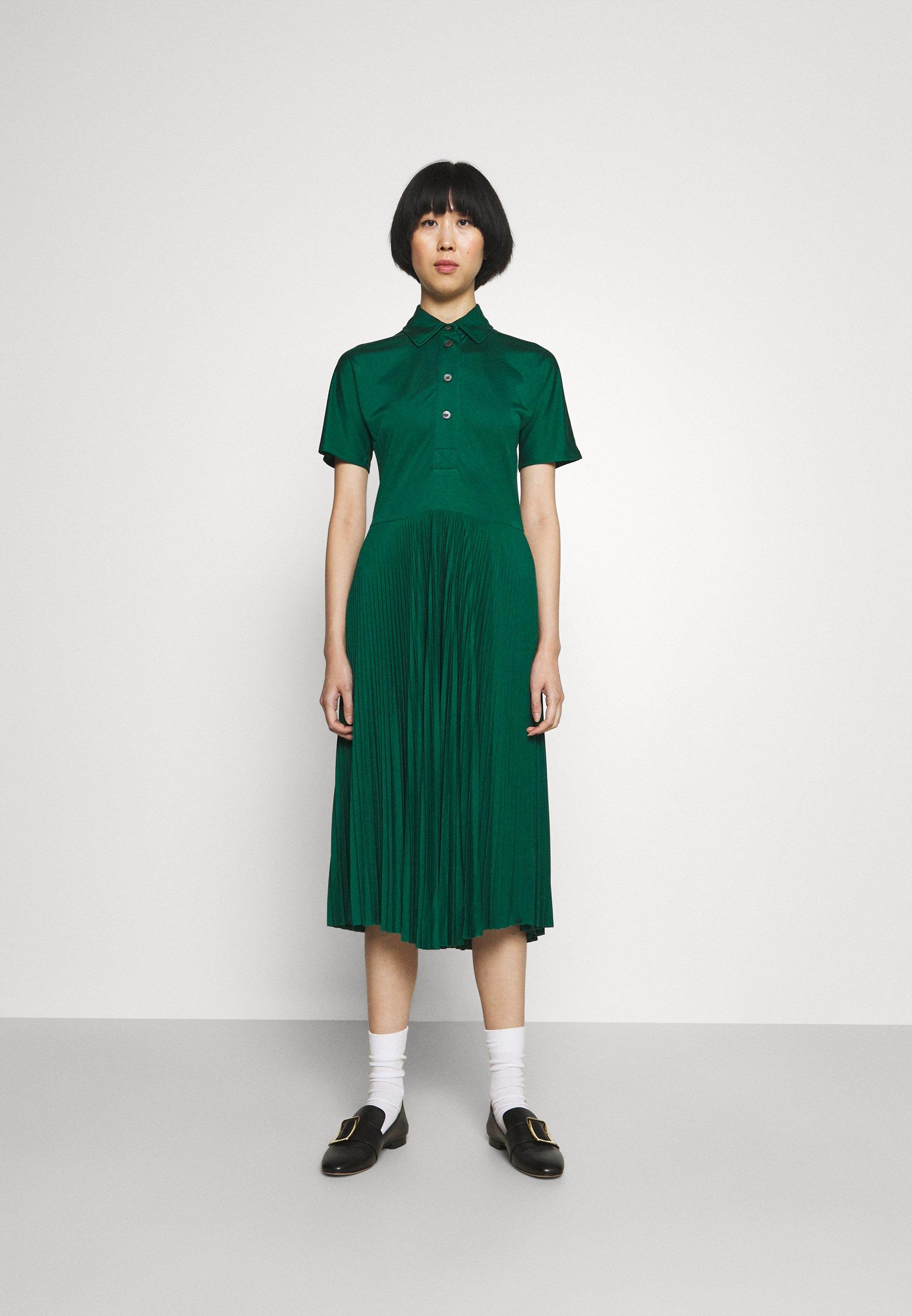 Women PLEATED DRESS - Shirt dress
