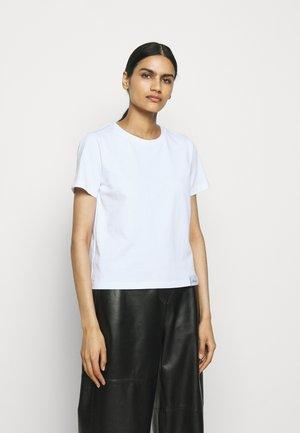 LOGO CREW - Basic T-shirt - white