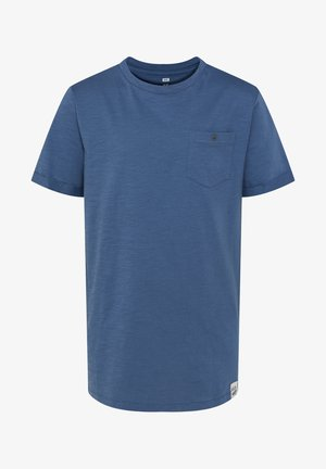 Basic T-shirt - greyish blue