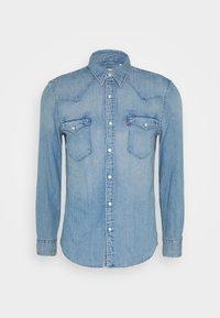 Levi's® - BARSTOW WESTERN SLIM - Skjorta - dark indigo - worn in - 4