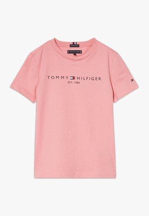 ESSENTIAL LOGO UNISEX - Camiseta estampada - pink