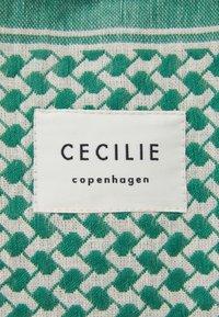CECILIE copenhagen - BAG LARGE SIGNATURE - Tote bag - cream/pepper - 3