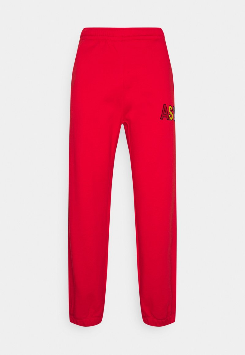 AS IF Clothing - BASIC UNISEX  - Tracksuit bottoms - red