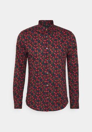 SLIM SHIRT - Shirt - black/multi-coloured