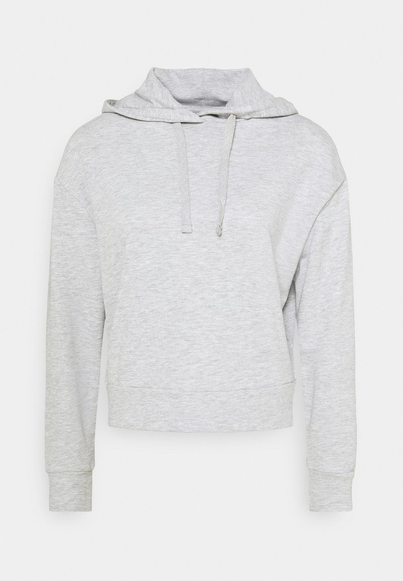 CALANDO - Hoodie - mottled light grey