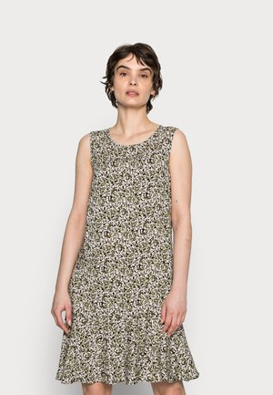 WENOLA ABSTRACT - Korte jurk - black