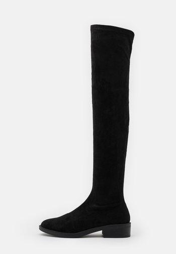 TAMARA - Overknee laarzen - black
