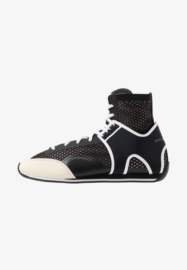BOXING SHOE - Obuwie treningowe - black/white/footwear white/pearl grey