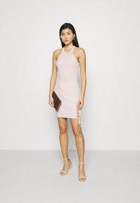 Guess - ALEXA TIE  - Shift dress - pink sky - 1