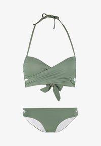 Anna Field - SET - Bikiny - green - 5