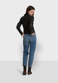 Oakwood - SAMANTHA  - Leather jacket - black - 5