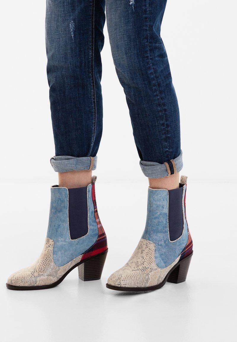 Desigual - Classic ankle boots - blue