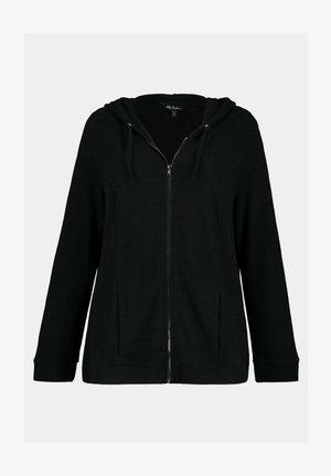 Zip-up hoodie - zwart
