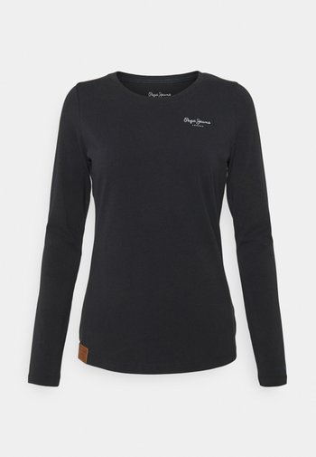 AMBERTA - Long sleeved top - black