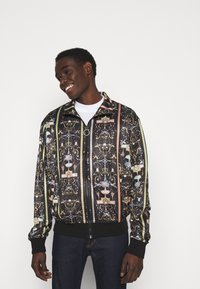 Versace Jeans Couture - TECNO PRINT TUILERIES  - Training jacket - black - 4
