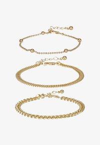 Pieces - PCFIBO BRACELET 3 PACK - Armbånd - gold-coloured - 3