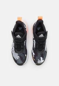 adidas Performance - FORTARUN KIDS NEXT CLOUDFOAM RUNNING SHOES UNISEX - Neutrální běžecké boty - core black/footwear white/grey three - 3