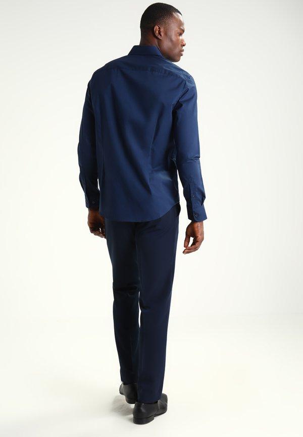 Pier One Koszula biznesowa - dark blue/granatowy Odzież Męska ROKV