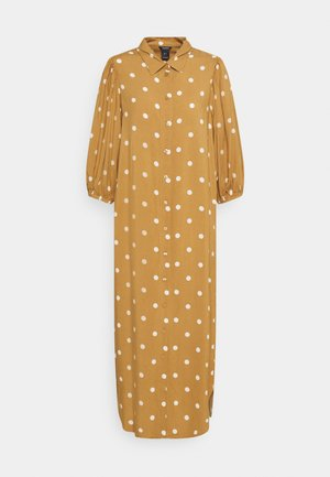 DRESS GRETA - Skjortekjole - light brown