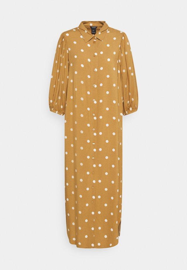 DRESS GRETA - Sukienka koszulowa - light brown
