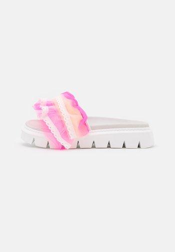 TULLE SLIDE  - Mules - pink