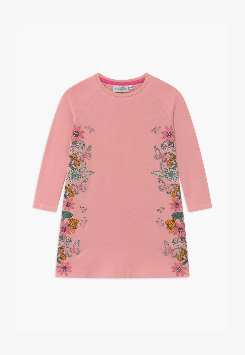 happy girls - Jersey dress - dusty rose