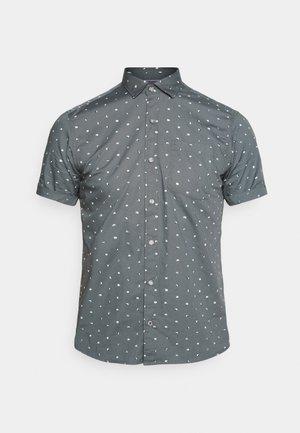 KURZARM - Shirt - grey aop