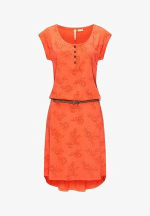 ZEPHIE - Jersey dress - koralle