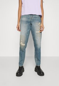 G-Star - JANEH ULTRA HIGH MOM ANKLE WMN - Jeans slim fit - vintage amalfi restored - 0