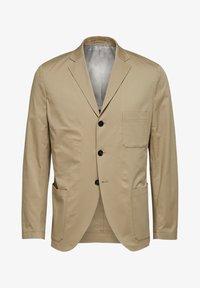 Selected Homme - SLIM FIT - Kavaj - crockery - 5