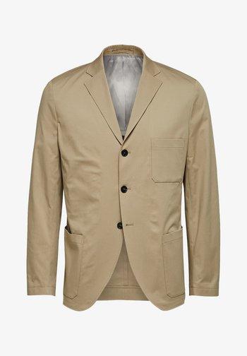 SLIM FIT - Blazer jacket - crockery