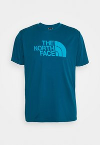 The North Face - MENS REAXION EASY TEE - Print T-shirt - moroccan blue - 4