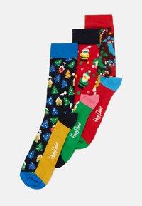 Happy Socks - HOLIDAY SOCKS GIFT SET 3 PACK - Strumpor - multi - 0
