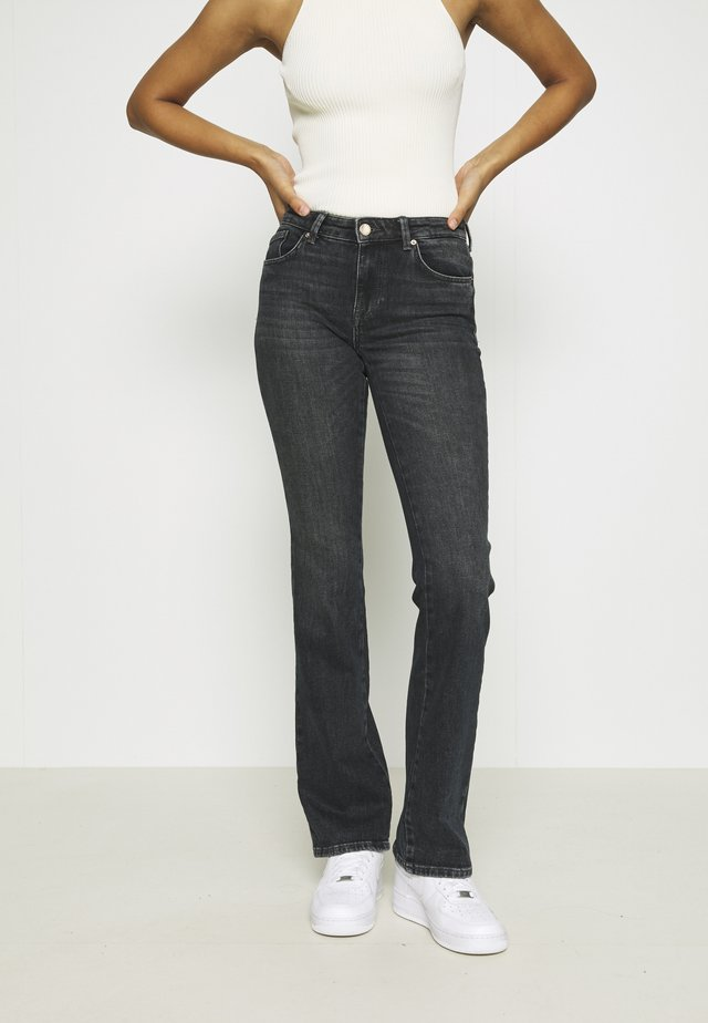ONLBILLY LIFE - Jeans bootcut - dark grey denim
