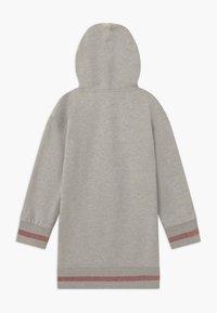 Guess - JUNIOR HOODED DRESS - Day dress - light heather grey - 1