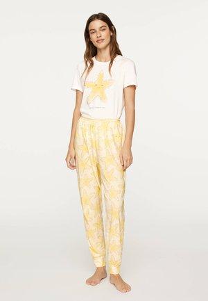 STARFISH 30320013 - Nattøj bukser - yellow
