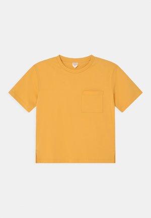 UNISEX - Jednoduché triko - yellow