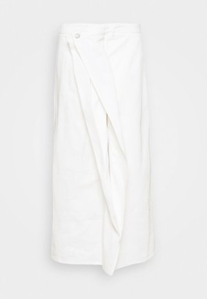 SKIRT - Falda vaquera - white