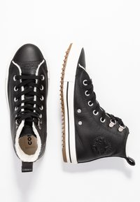 Converse - HIKER BOOT - Sneakers hoog - black/egret - 1