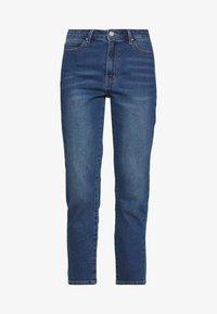 Vila - VISOMMER - Straight leg jeans - medium blue denim - 3