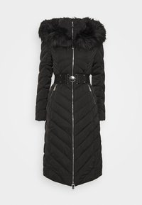 Guess - SOFIA LONG JACKET - Down coat - jet black - 4