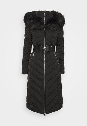 SOFIA LONG JACKET - Piumino - jet black