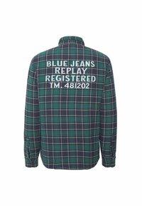 Replay - Light jacket - dark blue/dark green - 1