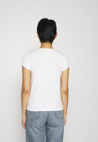 Abercrombie & Fitch - CREW NECK 3 PACK - Basic T-shirt - white/sky captain/grisaille - 3