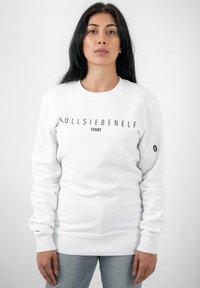 PLUSVIERNEUN - STUTTGART - Sweatshirt - white - 4