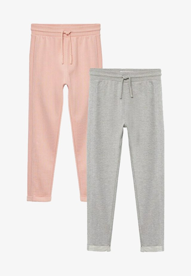 2 PACK  - Tracksuit bottoms - rose clair
