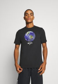 Nike Performance - DRY TEE - Print T-shirt - black - 0