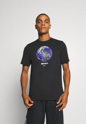 DRY TEE - Print T-shirt - black