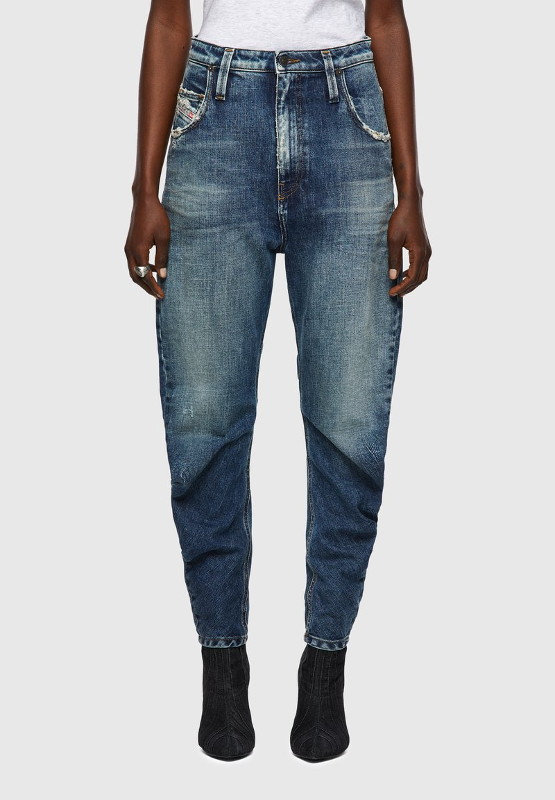 Diesel - Relaxed fit jeans - medium blue